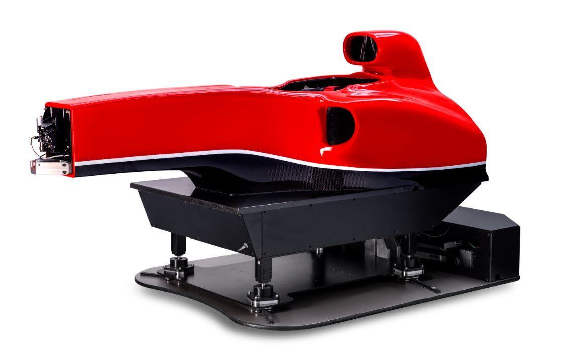 Formula Simulator - red