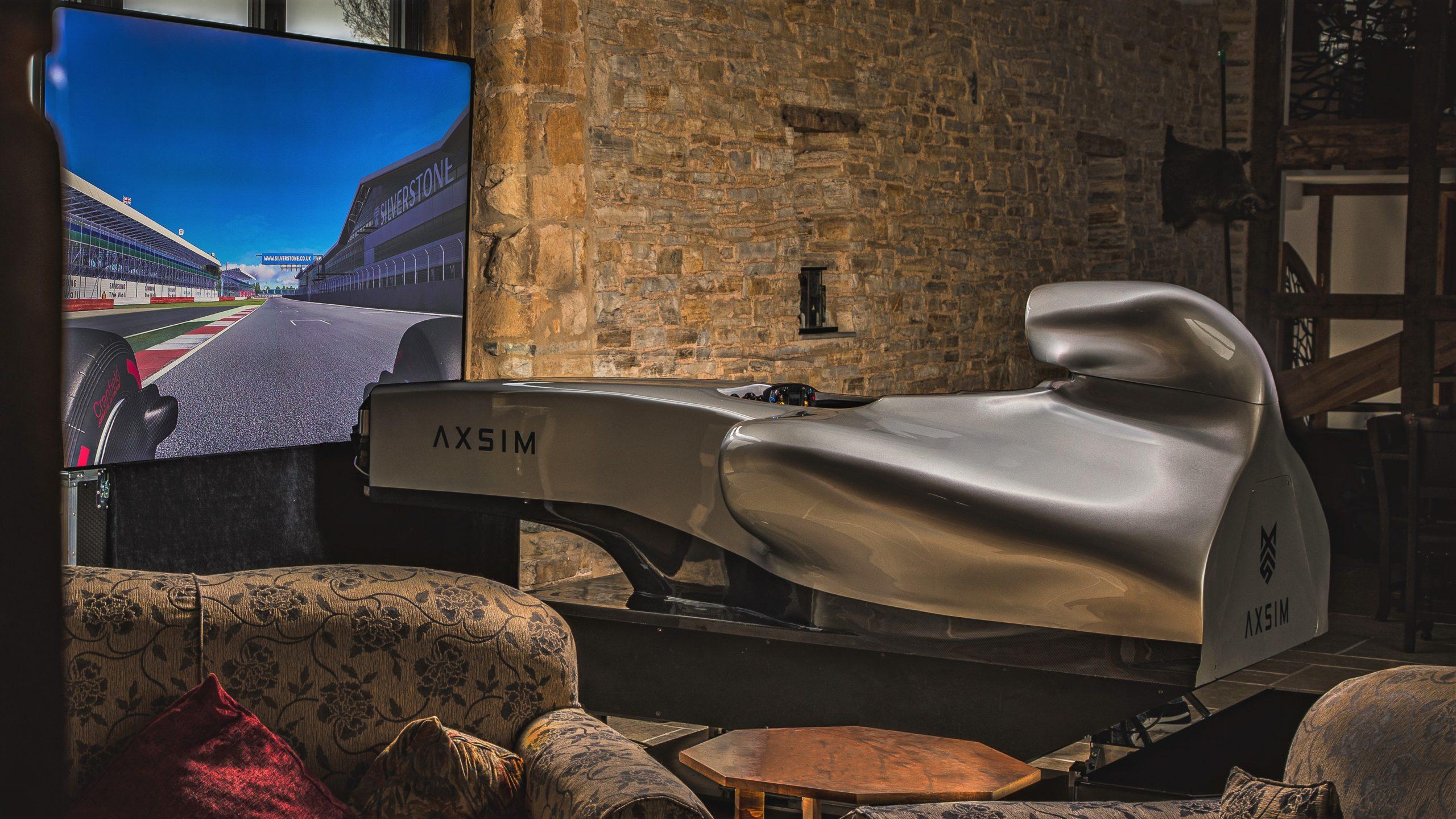 F1 Simulator home